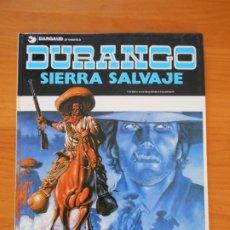 Cómics: DURANGO Nº 5 - SIERRA SALVAJE - YVES SWOLFS - GRIJALBO / DARGAUD - TAPA DURA (E1). Lote 176798773