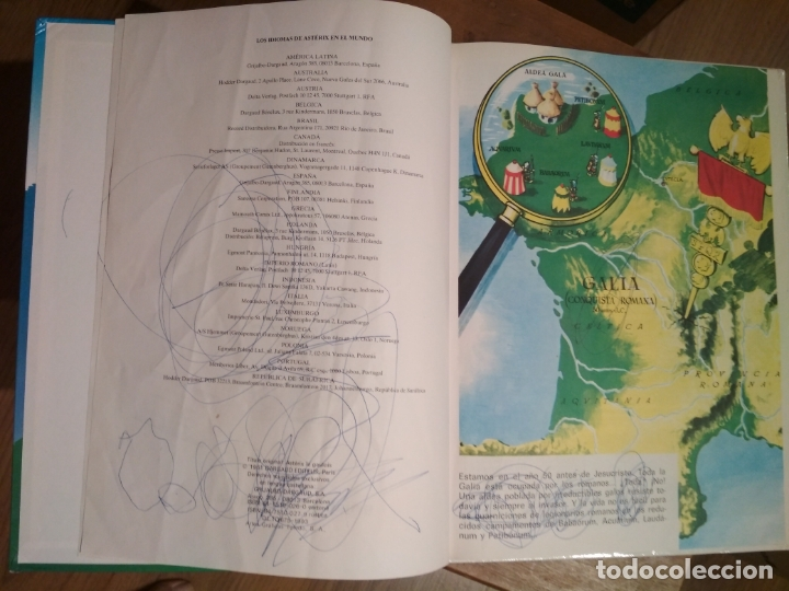 Cómics: COLECCIÓN DE 29 TOMOS DE ASTERIX EN GRIJALBO/DARGAUD TAPA DURA - Foto 5 - 171474418