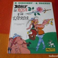 Cómics: ASTERIX LA ROSA Y LA ESPADA ( UDERZO ) ¡BUEN ESTADO! TAPA DURA GRIJALBO 29 DARGAUD. Lote 176879972