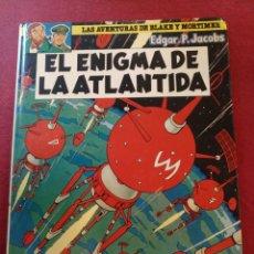 Cómics: EL ENIGMA DE LA ATLÁNTIDA. AVENTURAS DE BLAKE Y MORTIMER.EDGAR.P.JACOBS. Lote 176891920