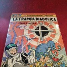 Cómics: LA TRAMPA DIABÓLICA. AVENTURAS DE BLAKE Y MORTIMER.EDGAR.P.JACOBS. Lote 176892365
