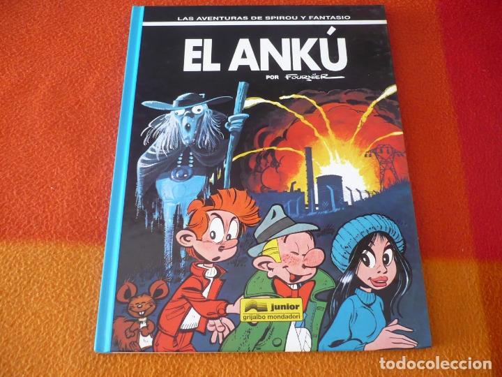 SPIROU Y FANTASIO EL ANKU ( FOURNIER ) ¡BUEN ESTADO! TAPA DURA GRIJALBO 38 JUNIOR (Tebeos y Comics - Grijalbo - Spirou)