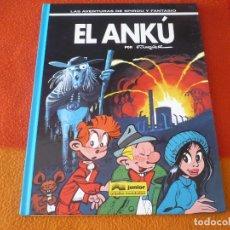 Cómics: SPIROU Y FANTASIO EL ANKU ( FOURNIER ) ¡BUEN ESTADO! TAPA DURA GRIJALBO 38 JUNIOR. Lote 176912605