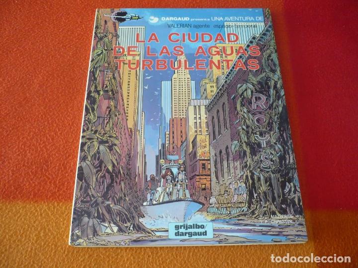 VALERIAN LA CIUDAD DE LAS AGUAS TURBULENTAS ( MEZIERES CHRISTIN ) ¡BUEN ESTADO! TAPA DURA GRIJALBO 8 (Tebeos y Comics - Grijalbo - Valerian)