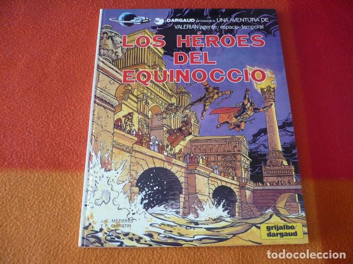 VALERIAN LOS HEROES DEL EQUINOCCIO ( MEZIERES CHRISTIN ) ¡BUEN ESTADO! TAPA DURA GRIJALBO 7 JUNIOR (Tebeos y Comics - Grijalbo - Valerian)