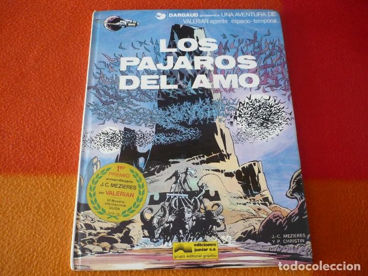 VALERIAN LOS PAJAROS DEL AMO ( MEZIERES CHRISTIN ) ¡BUEN ESTADO! TAPA DURA GRIJALBO 4 JUNIOR (Tebeos y Comics - Grijalbo - Valerian)