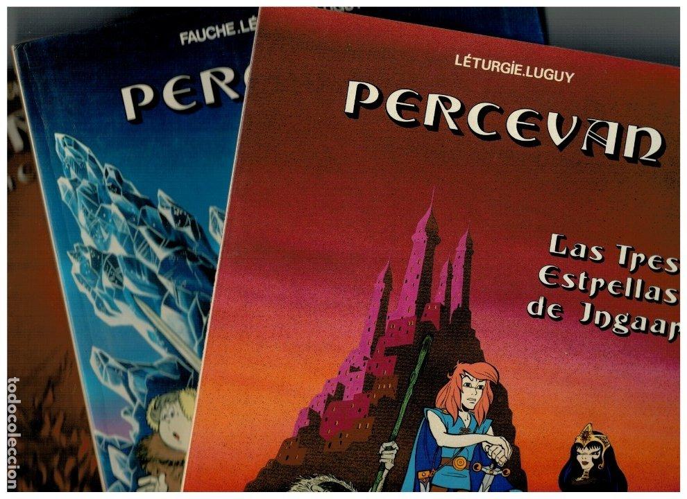 PERCEVAN -NºS.-1,2 Y 3- GRIJALBO,1984-85-86. NUEVOS. LEER (Tebeos y Comics - Grijalbo - Percevan)