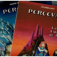 Comics : PERCEVAN -NºS.-1,2 Y 3- GRIJALBO,1984-85-86. NUEVOS. LEER. Lote 177203584