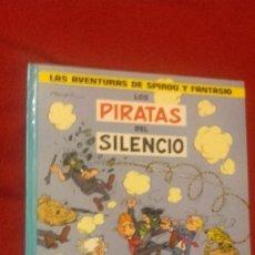 Comics : SPIROU Y FANTASIO 8 - LOS PIRATAS DEL SILENCIO - FRANQUIN - CARTONE. Lote 177215323
