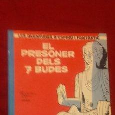Comics : SPIROU Y FANTASIO 12 - EL PRESONER DELS 7 BUDES - FRANQUIN & JIDEKEM & GREG - RUSTICA - EN CATALAN. Lote 177215328