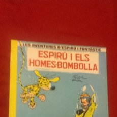 Comics : SPIROU Y FANTASIO 13 - ESPIRU I ELS HOMES-BOMBOLLA - FRANQUIN & ROBA - RUSTICA - EN CATALAN. Lote 177215330
