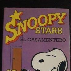Cómics: 1 COMIC DE ** SNOOPY STARS . EL CASAMENTERO ** CHARLES M. SCHULZ AÑO 1990 N. 2. Lote 177430248