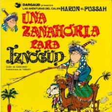 Cómics: IZNOGUD - GRIJALBO-DARGAUD / NÚMERO 1 - UNA ZANAHORIA PARA IZNOGUD (AÑO 1990). Lote 177500900