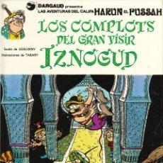 Cómics: IZNOGUD - GRIJALBO-DARGAUD / NÚMERO 10 - LOS COMPLOTS DEL GRAN VISIR IZNOGUD (AÑO 1990). Lote 177501969