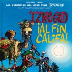 Cómics: IZNOGUD - JUNIOR (GRIJALBO) / NÚMERO 18 - ¡AL FIN CALIFA! (AÑO 1994). Lote 177503099
