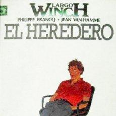 Fumetti: LARGO WINCH Nº 1 EL HEREDERO - GRIJALBO - CARTONE - MUY BUEN ESTADO. Lote 177521869