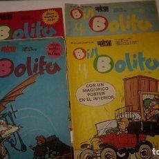 Cómics: LOTE DE 4 TEBEOS BILL Y BOLITA - Nº 1, 3, 4 Y 5 SUPLEMENTO DE SPIROU ARDILLA - MUNDIS 1979. Lote 177608533