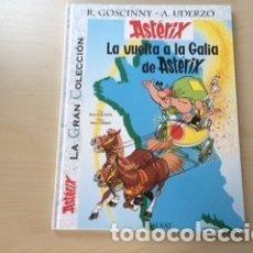 Cómics: ASTERIX LA GRAN COLECCION, GLADIADOR, VUELTA A LA GALIA, LA HOZ DE ORO. Lote 177629403