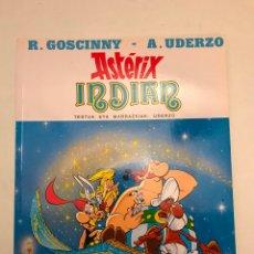 Cómics: ASTERIX IDIOMAS Nº 5 INDIAN. EN INDIA. EUSKERA VASCO. ELKAR. TAPA BLANDA. Lote 177657334