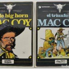 Cómics: MAC COY - COMICS VOLÚMENES 4 Y 8 EXCELENTES. Lote 177749033