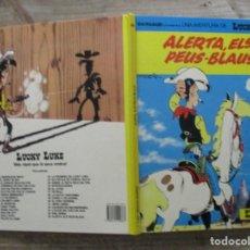 Cómics: LUCKY LUKE - Nº45 - ALERTA EL PEUS BLAUS - CATALAN -GRIJALBO / JUNIOR. Lote 177821873