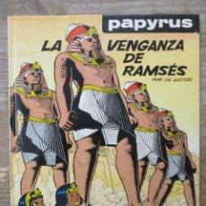 Comics : PAPYRUS - LA VENGANZA DE RAMSÉS - Nº 7 - DE GIETER - GRIJALBO / JUNIOR. Lote 177875064