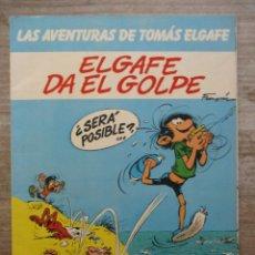 Cómics: GASTON / TOMAS EL GAFE - EL GAFE DA EL GOLPE - Nº 3 - RUSTICA- GRIJALBO / JUNIOR. Lote 177875853