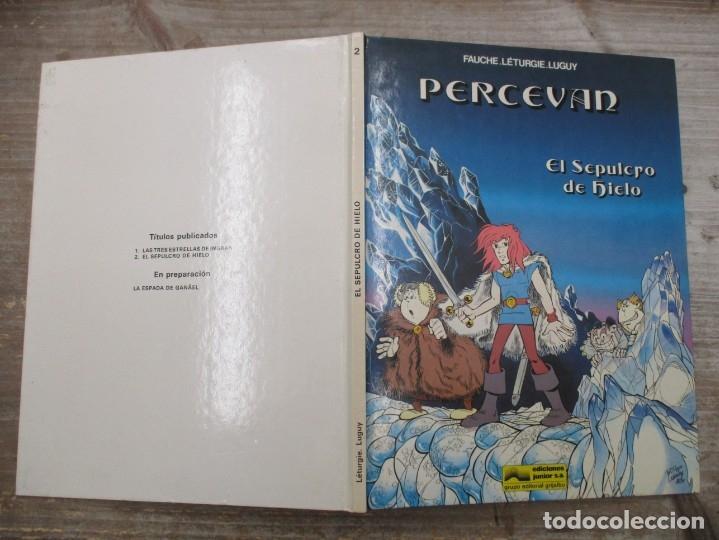 PERCEVAN - EL SEPULCRO DE HIELO - Nº 2 - GRIJALBO / JUNIOR (Tebeos y Comics - Grijalbo - Percevan)