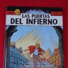 Cómics: LEFRANC Nº 5 LAS PUERTAS DEL INFIERNO - J. MARTIN, G. CHAILLET - EDICIONES JUNIOR GRIJALBO 1987. Lote 178031213