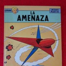 Cómics: J.MARTIN, G.CHAILLET, LEFRANC, ED- JUNIOR. LA AMENAZA, Nº 1. Lote 178031282