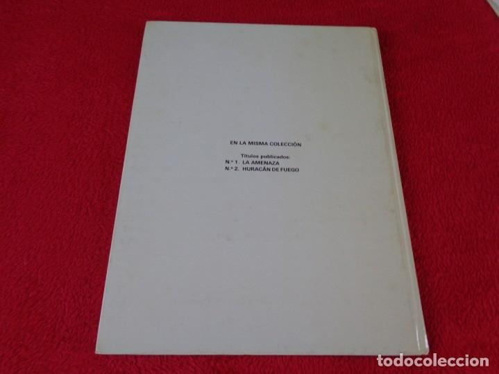 Cómics: J.Martin, G.Chaillet, Lefranc, Ed- Junior. La amenaza, nº 1 - Foto 2 - 178031282