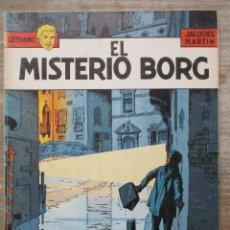 Cómics: LEFRANC - EL MISTERIO BORG - JACQUES MARTIN - RUSTICA -GRIJALBO / JUNIOR. Lote 178100570