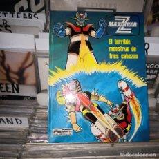 Cómics: COMIC MAZINGER Z, Nº 5: EL TERRIBLE MONSTRUO DE TRES CABEZAS; GRIJALBO. Lote 178183745