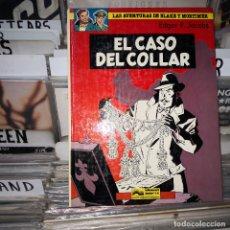 Cómics: LAS AVENTURAS DE BLAKE Y MORTIMER. EL CASO DEL COLLAR ,NUM 7. Lote 178185785