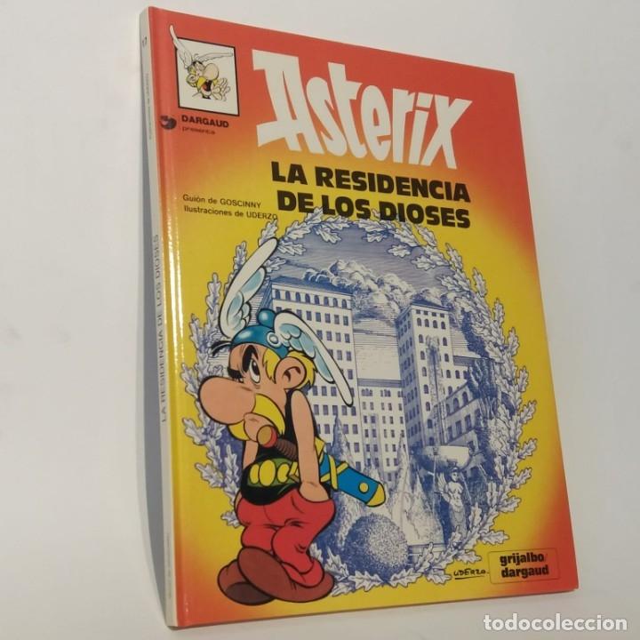 ASTÉRIX LA RESIDENCIA DE LOS DIOSES, TAPA DURA, ED. ESPECIAL PARA CÍRCULO DE LECTORES 30 ANIVERSARIO (Tebeos y Comics - Grijalbo - Asterix)