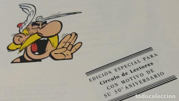 Cómics: Obélix y compañía, tapa dura, edición especial para círculo de lectores 30 aniversario - Foto 3 - 178215125