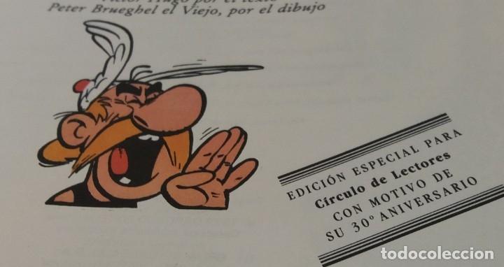 Cómics: Astérix en Bélgica, tapa dura, edición especial para círculo de lectores 30 aniversario - Foto 2 - 178215262