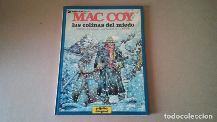 MAC COY Nº 13 LAS COLINAS DEL MIEDO. GOURMELEN / PALACIOS - GRIJALBO / DARGAUD 1987 (Tebeos y Comics - Grijalbo - Mac Coy)