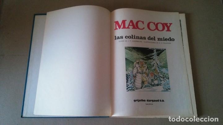 Cómics: MAC COY Nº 13 LAS COLINAS DEL MIEDO. GOURMELEN / PALACIOS - GRIJALBO / DARGAUD 1987 - Foto 2 - 178301453