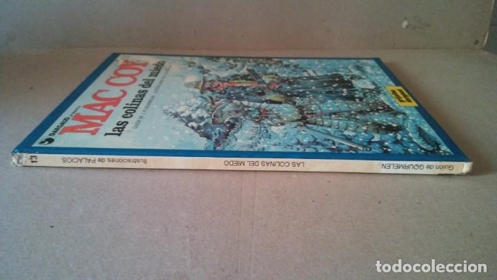 Cómics: MAC COY Nº 13 LAS COLINAS DEL MIEDO. GOURMELEN / PALACIOS - GRIJALBO / DARGAUD 1987 - Foto 5 - 178301453