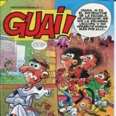 Cómics: 2 EJEMPLARES - GUAI. Lote 178360702