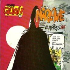 Comics: TOPE GUAI Nº 6 - RAF - MIRLOWE Y VIOLETA - VAMPIROS 87 - EDICIONES JUNIOR 1987 - MUY DIFICIL. Lote 178362968