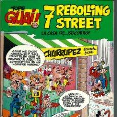 Cómics: TOPE GUAI Nº 17 - IBAÑEZ - 7 REBOLLING STREET - LA CASA DE SOCORRO - EDICIONES JUNIOR 1987. Lote 178363186