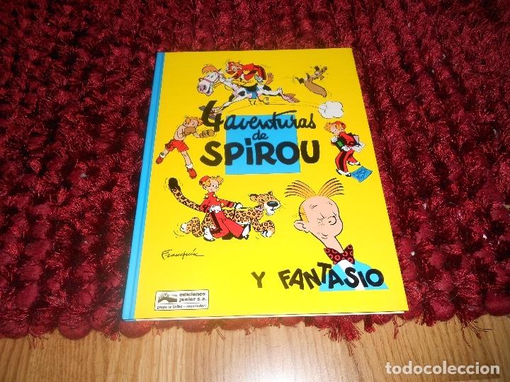 SPIROU Y FANTASIO Nº 30 4 AVENTURAS DE SPIROU Y FANTASIO PERFECTO (Tebeos y Comics - Grijalbo - Spirou)