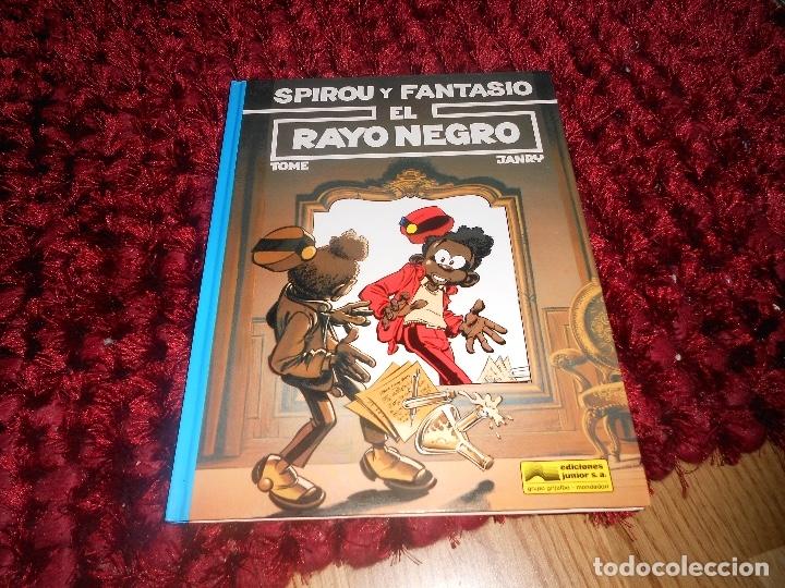 SPIROU Y FANTASIO Nº 32 EL RAYO NEGRO (TOME / JANRY) GRIJALBO (Tebeos y Comics - Grijalbo - Spirou)