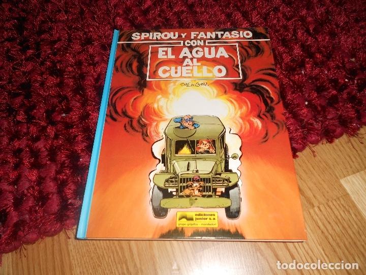 SPIROU Y FANTASIO CON EL AGUA AL CUELLO. Nº26. TOME & JANRY. ESPAÑA 1991. (Tebeos y Comics - Grijalbo - Spirou)
