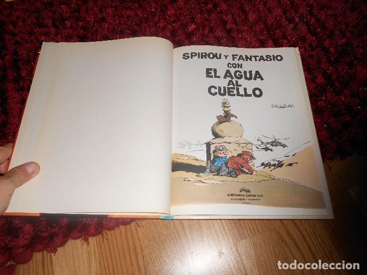 Cómics: SPIROU Y FANTASIO CON EL AGUA AL CUELLO. Nº26. TOME & JANRY. ESPAÑA 1991. - Foto 2 - 178381723