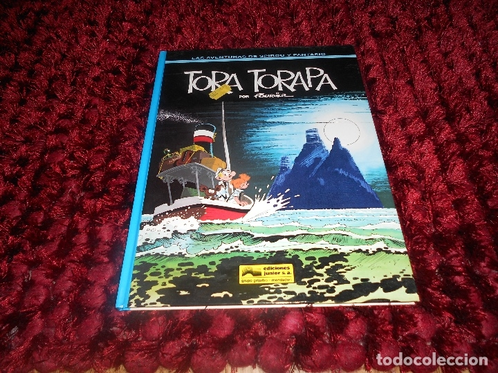SPIROU Y FANTASIO TORA TORAPA ¡MUY BUEN ESTADO! TAPA DURA GRIJALBO 36 JUNIOR 1994 (Tebeos y Comics - Grijalbo - Spirou)