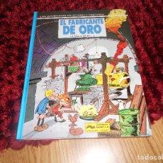 Fumetti: LAS AVENTURAS DE SPIROU Y FANTASIO 33: EL FABRICANTE DE ORO, 1993, IMPECABLE. Lote 224561370
