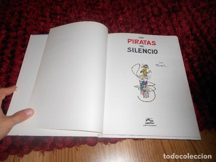 Cómics: LAS AVENTURAS DE SPIROU Y FANTASIO LOS PIRATAS DEL SILENCIO N. 8 PERFECTO NUNCA LEIDO - Foto 2 - 178385406